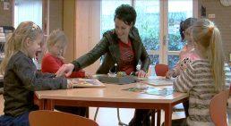 Afbeelding uit promotievideo basisschool Het Valkhof te Roden