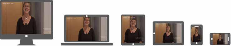 Voorbeeld van ons responsive webdesign: Elevator pitch op video.nl