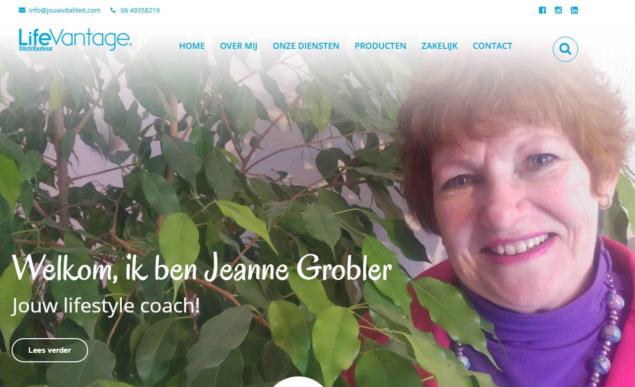 Afbeelding website Jouw Vitaliteit