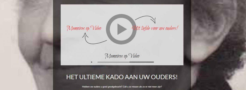 Afbeelding website Memoires op Video