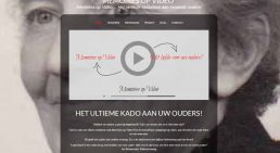 Afbeelding website Memoires op Video