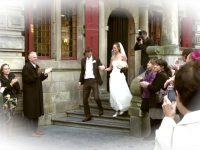 Video Uit stadhuis lopen Bruiloft op Video