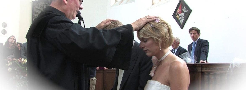 Video kerkelijke inzegening Bruiloft op Video