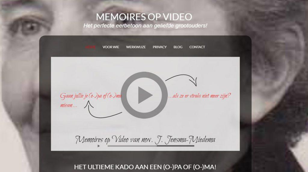 Playerafbeelding Memoires op Video